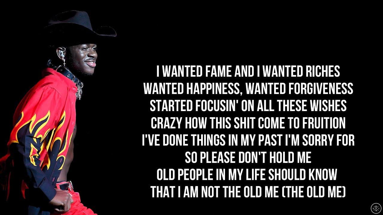 Lil Nas X - DON'T WANT IT (Lyrics)