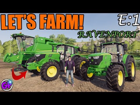 FARMING SIMULATOR 2019 GAMEPLAY | LETS FARM | WITH SPENCER TV | FS19 MULTIPLAYER  | EPISODE 1