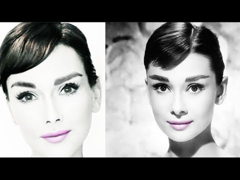 Audrey Hepburn MakeUp Tutorial: How to Look  Like Audrey Hepburn