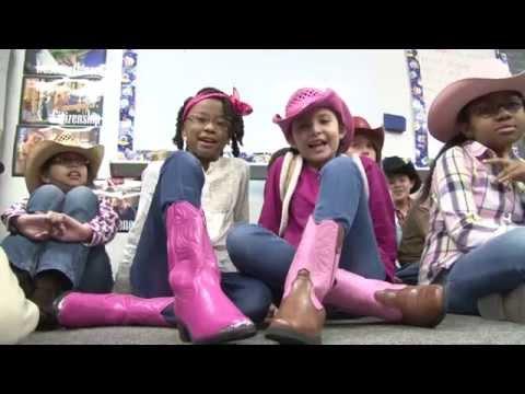 Go Texan Day at Beneke Elementary School