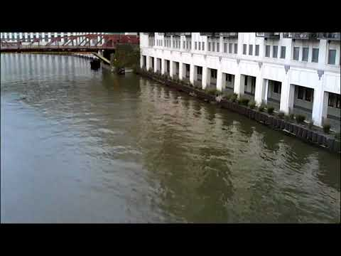 Chicago River Flooding - 1 Day after -a