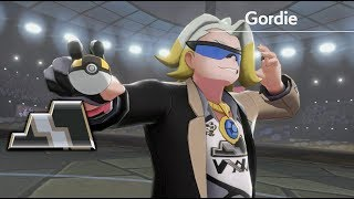 Pokemon Sword & Shield - Vs Gym Leader Gordie