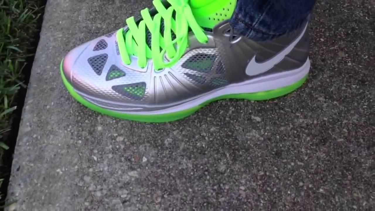 b0004339b0274 Nike Lebron 8 PS V3 Dunkman on feet - YouTube