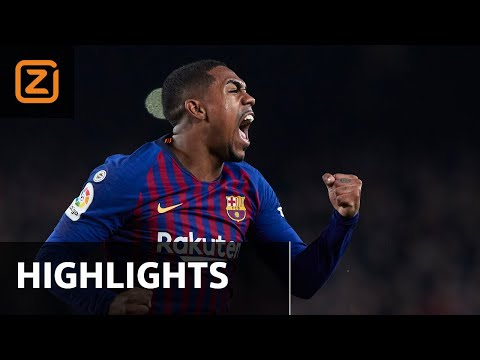 ZINDERENDE strijd in EL CLÁSICO | FC Barcelona vs Real Madrid | Copa del Rey 2018/19 | Samenvatting