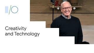 On Creativity and Technology, with Legendary Animator Glen Keane (Google I/O'19)