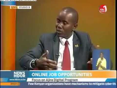 Cs Joe Mucheru on Online Job Opportunities #ajiradigital