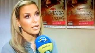 Anastacia interview Reflex (TV Markíza, Slovakia Bratislava)