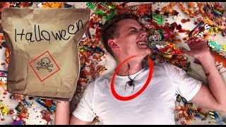 Mysteriöse Halloween Candy Challenge 😮 I Julienco