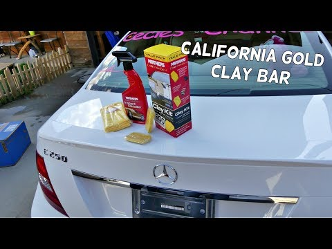 MOTHERS CALIFORNIA GOLD CLAY BAR REVIEW. HOW TO USE CLAY BAR