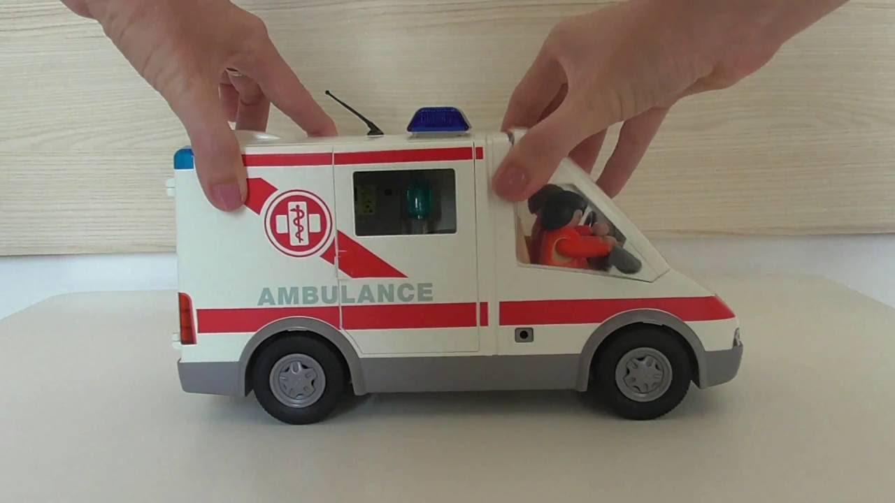 playmobil 4221 ambulance youtube. Black Bedroom Furniture Sets. Home Design Ideas