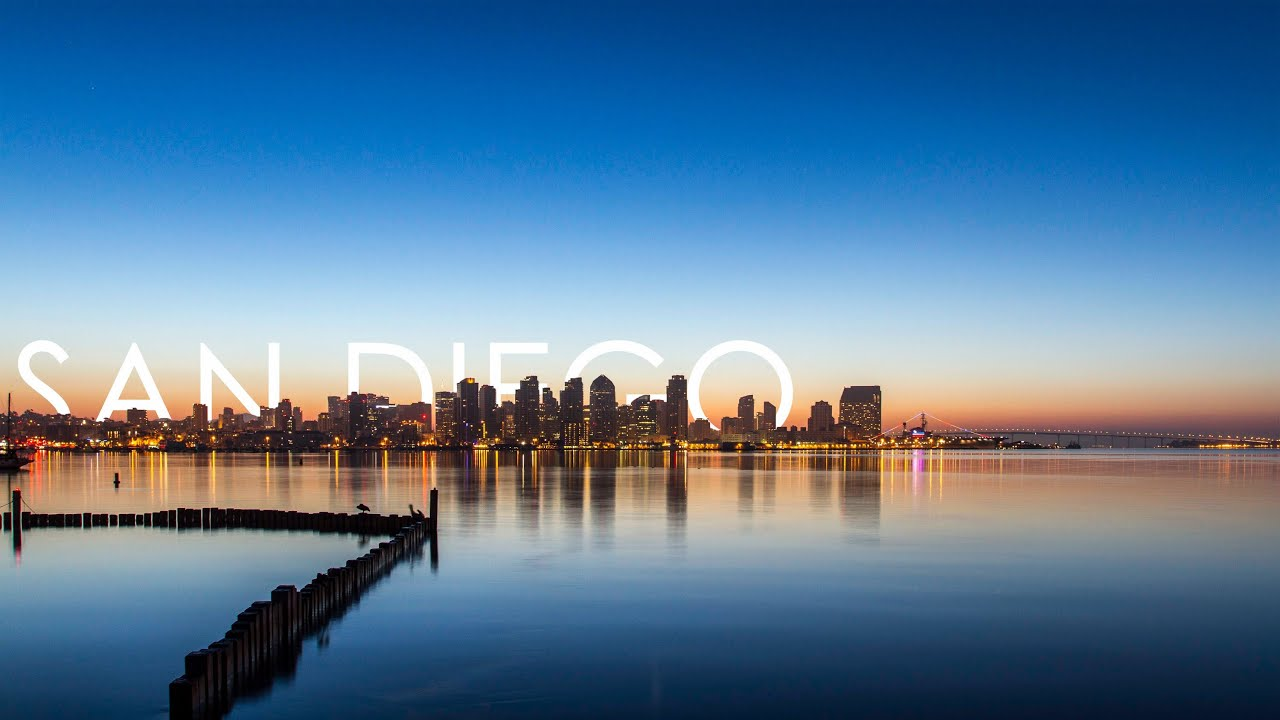 time lapse sunrise over downtown san diego youtube. Black Bedroom Furniture Sets. Home Design Ideas