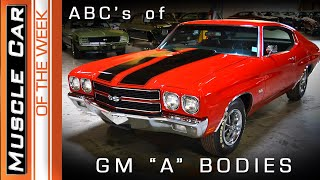 Chevelle, GTO, 442, GS - The ABC's of GM
