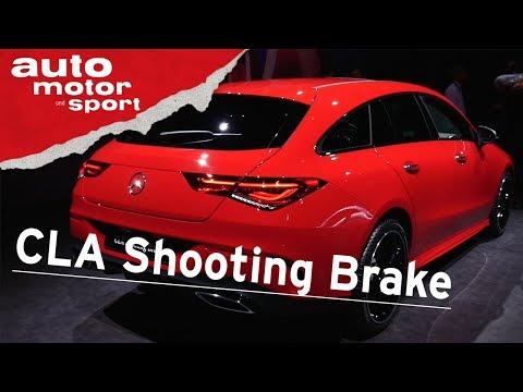 Mercedes-Benz CLA Shooting Brake (2019) - GENF 2019 I auto motor und sport