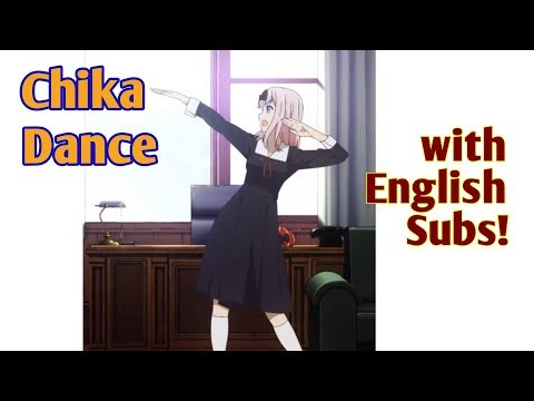 Fujiwara Chika Dance English Subbed (Translated!)