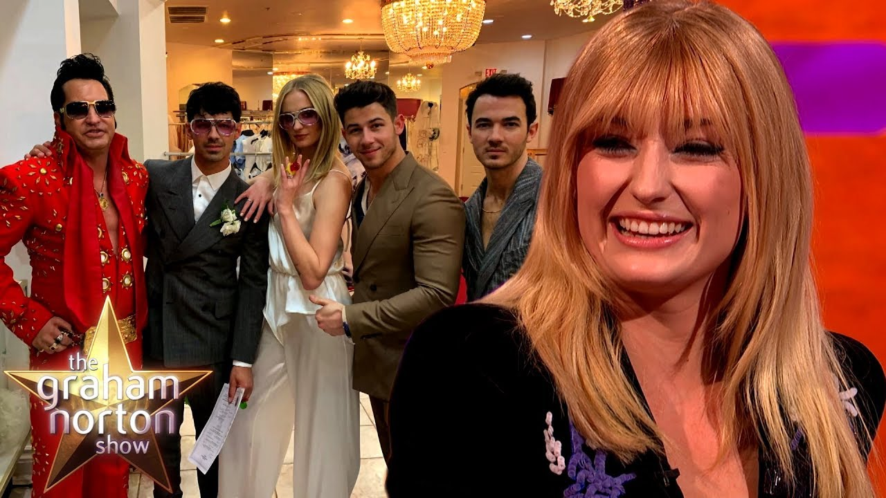 Sophie Turner's Vegas Wedding With Joe Jonas | The Graham Norton Show