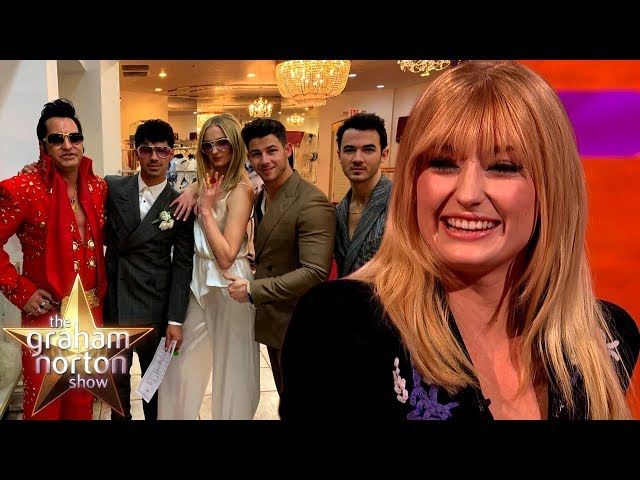 Sophie Turner's Vegas Wedding With Joe Jonas | The Graham Norton Show