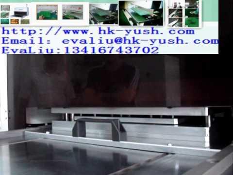 electronics component cutting machine