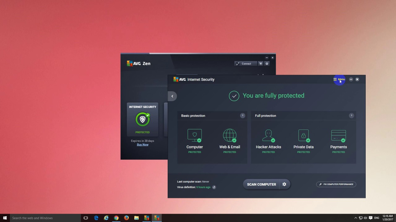 avg exceptions not working