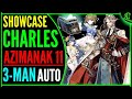 Charles Azimanak 11 Auto 3-man Team Epic Seven A11 Epic 7 Pve Gameplay Review E7