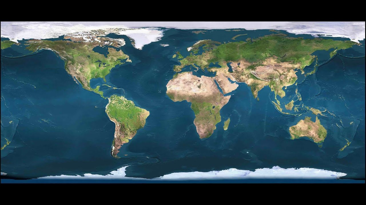 Just A Music With A Gobal Earth Map YouTube - Eart map