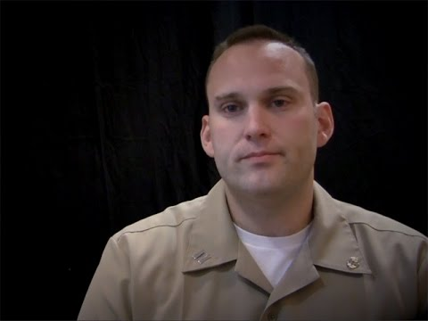 Navy Judge Advocate - Lt Andrew English