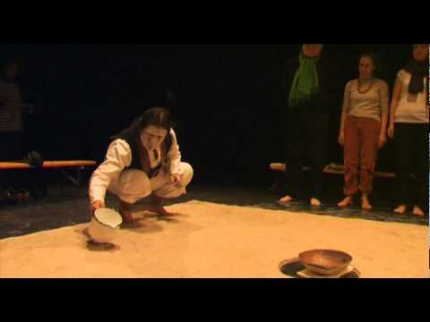 """Amaru Cholango - Performance """"Quo vadis - Wohin gehst Du?"""" am 12.2.2011 im T-Werk Potsdam"""