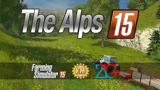 #1 The Alps Map v 1.031 FS 2015 I LE BÛCHERON DE L'EXTRÊME I FARMING SIMULATOR 2015