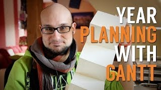 Planning The Year With A Gantt Project Planner