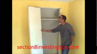 Section 8 Investing Tips (Closet Doors)