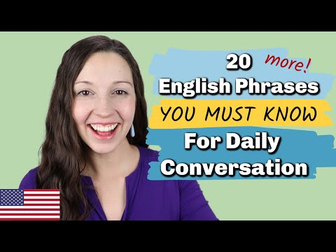 20 Essential English Phrases for Daily Conversation