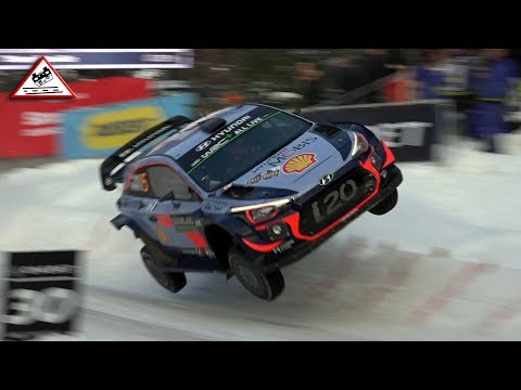 Big Jumps &  Colin Crest Rally Sweden 2018 Passats de canto