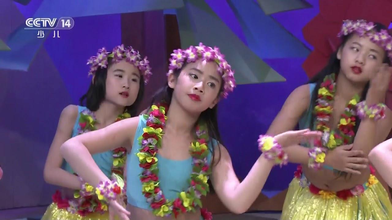 [英雄出少年]《夏威夷风情》 表演:石佳鑫等 | CCTV少儿