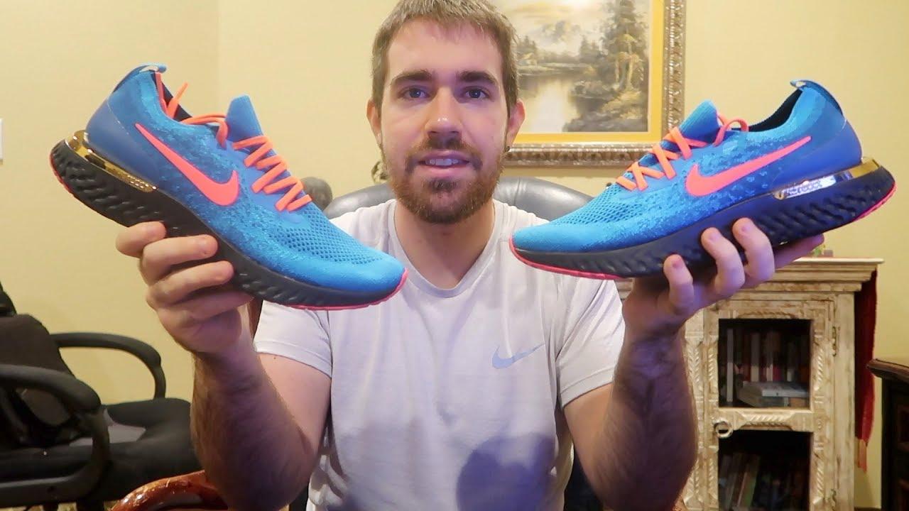 b0f9b1edb53 My Nike Epic React Id Unboxing - YouTube