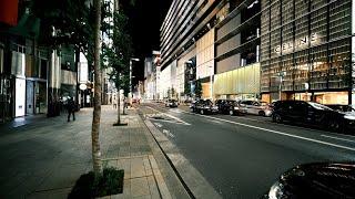 【4K】Walk on Shinbashi-HigashiGinza(新橋-東銀座) at Tokyo【2020】