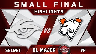 Secret vs VP [TOP 3] Stockholm Major DreamLeague Highlights 2019 Dota 2