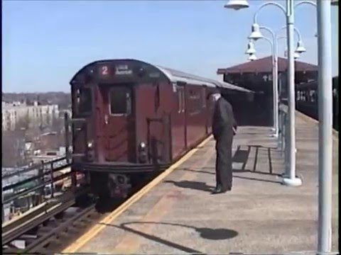 Redbird Ride on the White Plains Road El in 2000