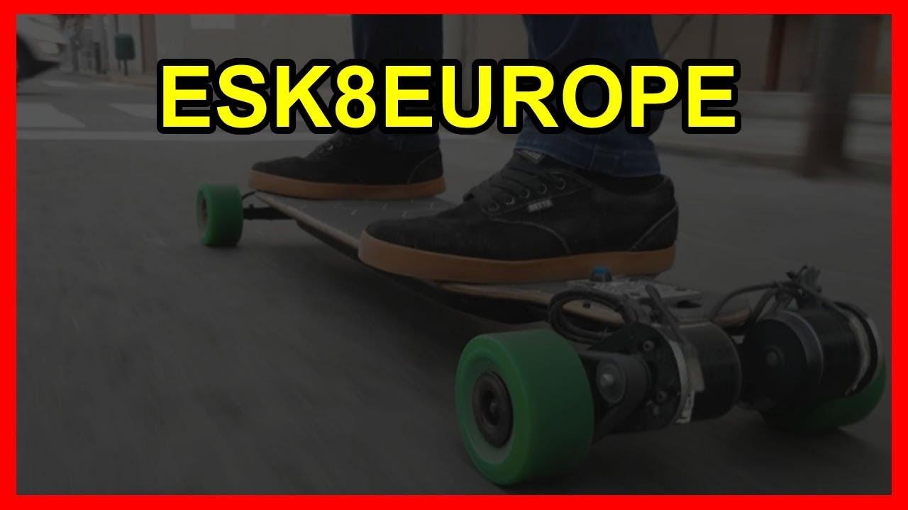 esk8europe.com tienda online en españa con kits para crear tu monopatín  eléctrico DIY 99983134315