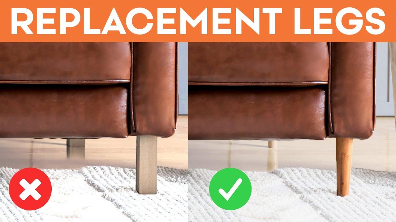 Give Your Sofa An Elegant Upgrade - Replacement Legs | IKEA Karlstad Karlstad Legs on honey badger on hind legs, ektorp legs, henderson legs, godmorgon legs,