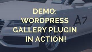 Demo: Wordpress Gallery Plugin in Action! thumbnail
