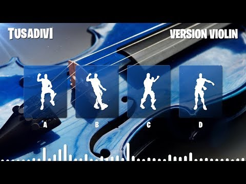 GUESS THE FORTNITE DANCE BY ITS VIOLIN VERSION MUSIC - FORTNITE CHALLENGE   tusadivi