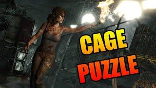 Tomb Raider (2013) Cage puzzle