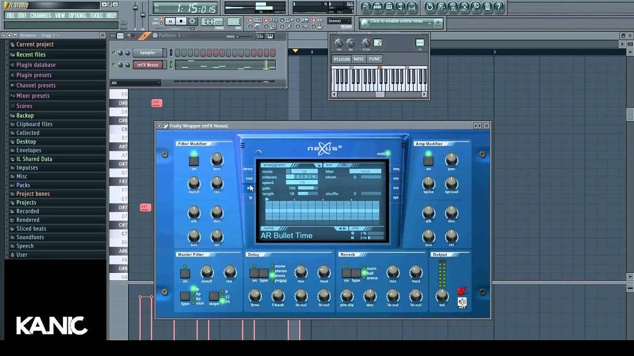 How to create a Tropical House Lead Sound in Nexus !