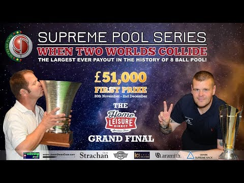 Marc Farnsworth vs Karl O Donoghue - The Supreme Pool Series - Home Leisure Direct Grand Final - T4