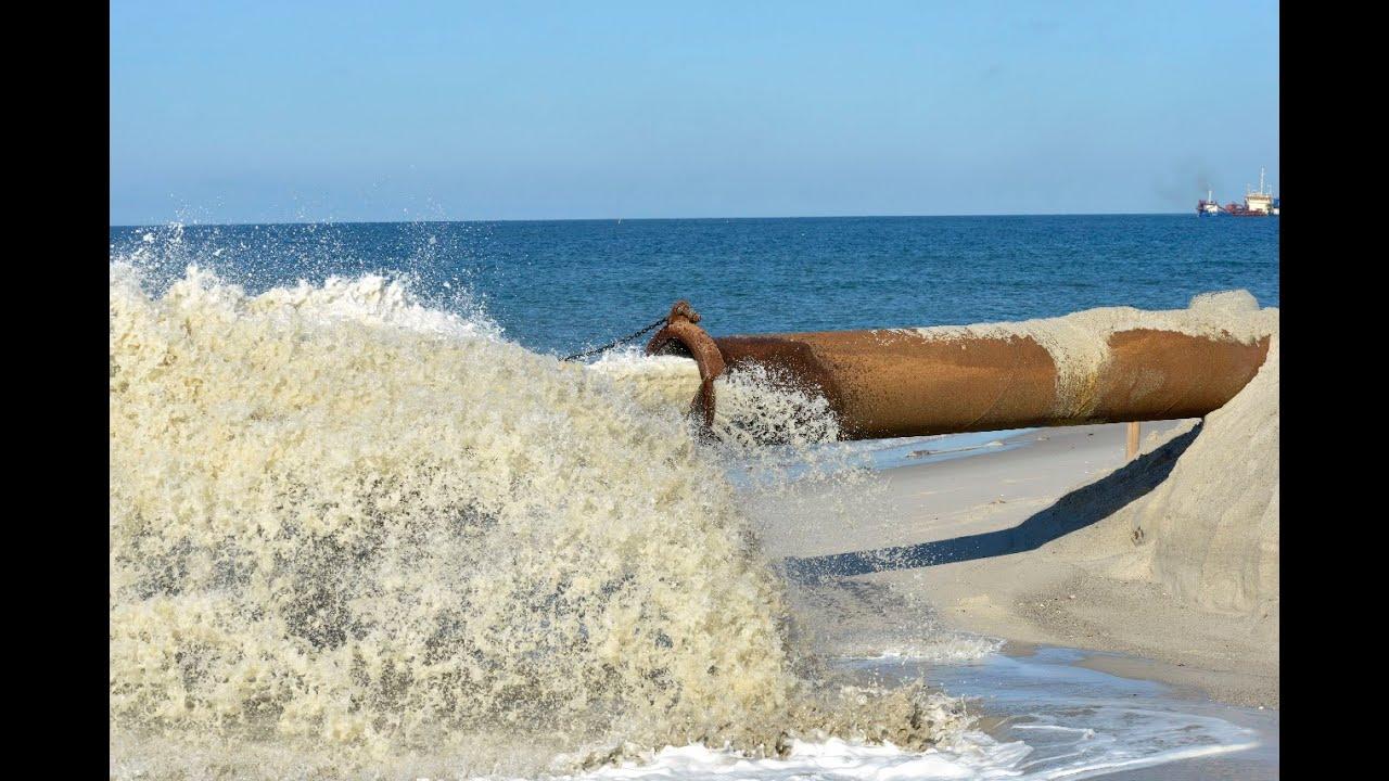 Sandvorspülung Sylt 2016 hat begonnen | Sylt TV