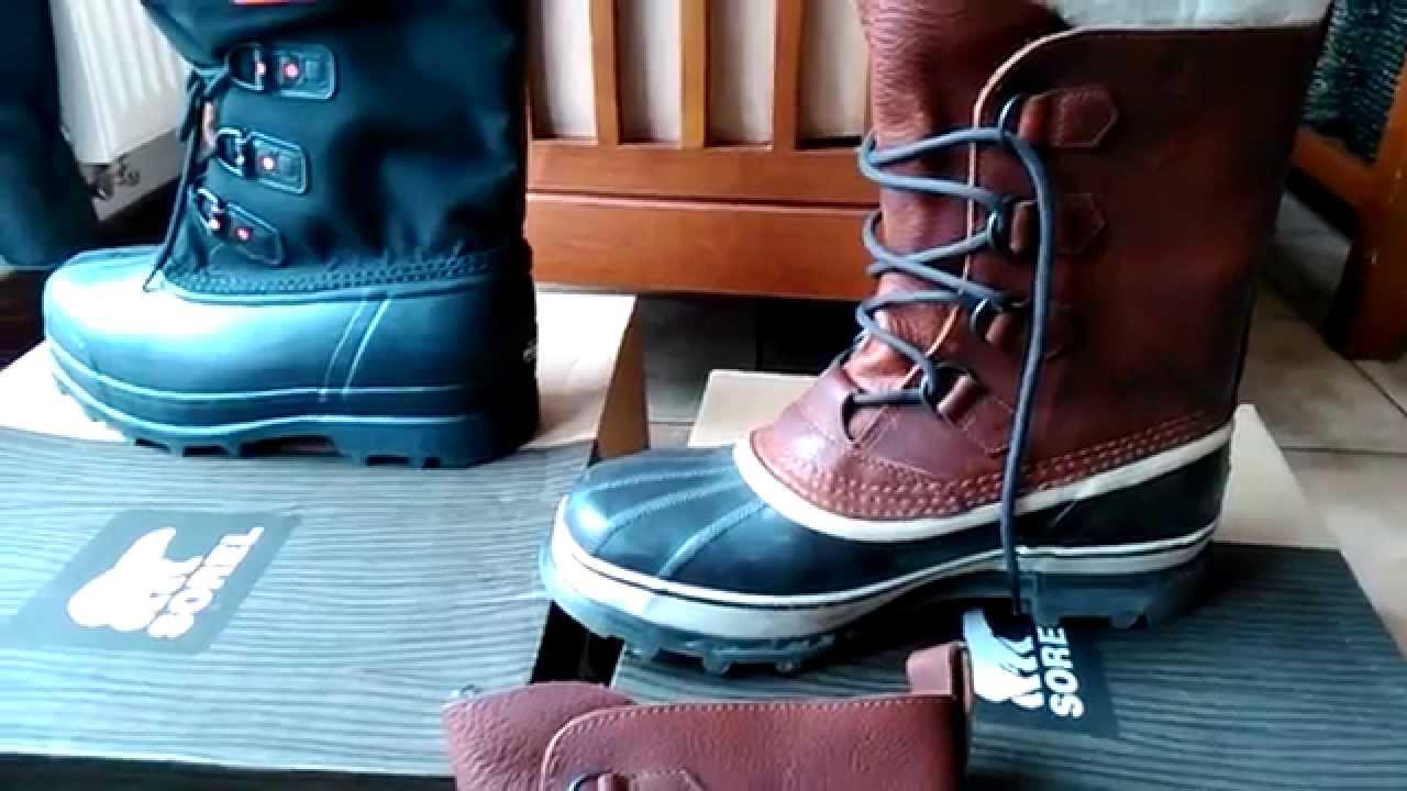 designer fashion really cheap usa cheap sale SOREL Glacier XT - SOREL Caribou WL - YouTube