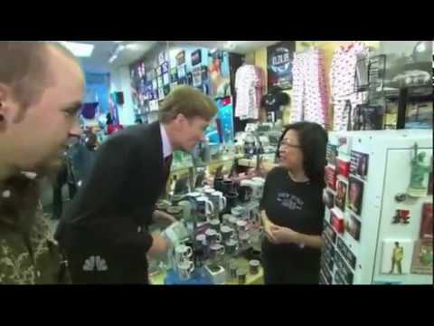 Remote: Conan Visits the NBC Stores - 10/15/2008