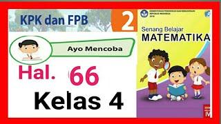 Kunci Jawaban Matematika Kelas 4 Halaman 66 67