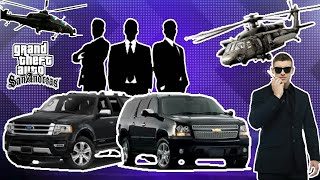 Bodyguard + Helicopter + Cars - Fully Protection Mod | Gta San Andreas | Android - By Games Of Ocean