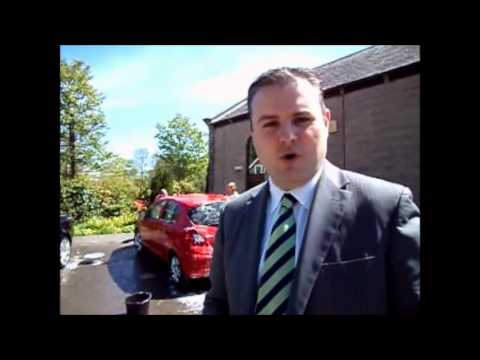 M4 Tour Part 2 - MP Andrew Stephenson in Pendle