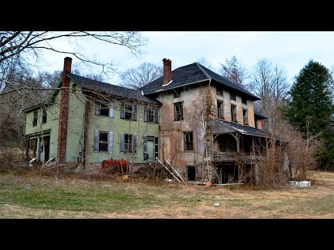 Exploring an Abandoned Farm House & Factory - PA
